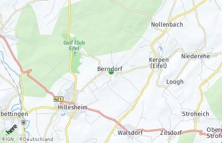 Stadtplan Berndorf
