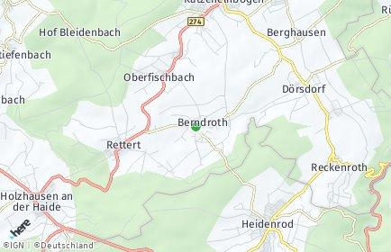 Stadtplan Berndroth