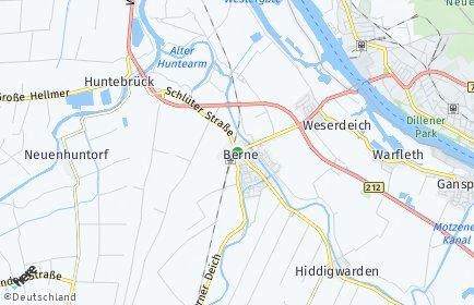 Stadtplan Berne