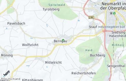 Stadtplan Berngau