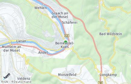 Stadtplan Bernkastel-Kues