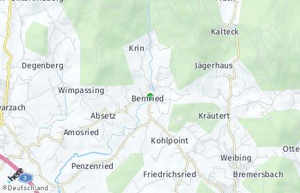 Stadtplan Bernried (Niederbayern)