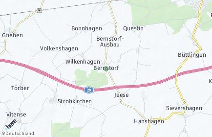 Stadtplan Bernstorf