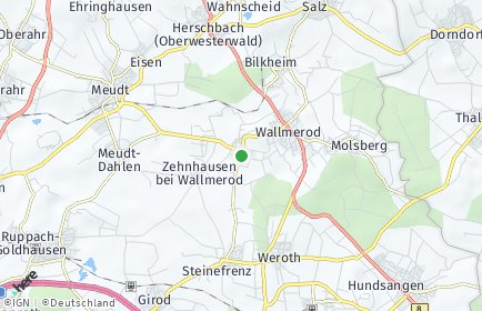Stadtplan Berod bei Wallmerod