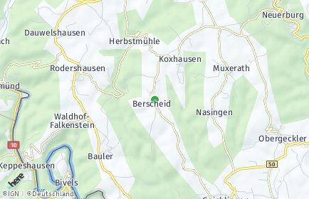 Stadtplan Berscheid