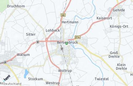 Stadtplan Bersenbrück