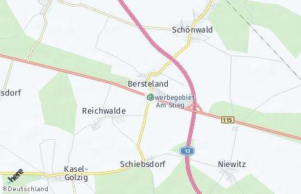 Stadtplan Bersteland