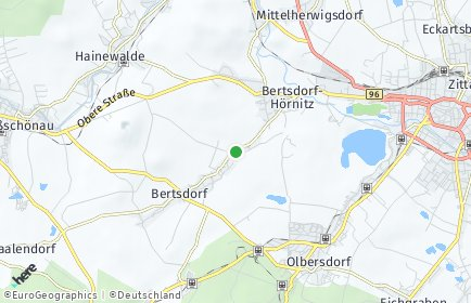 Stadtplan Bertsdorf-Hörnitz