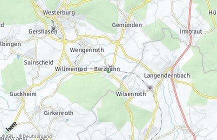 Stadtplan Berzhahn