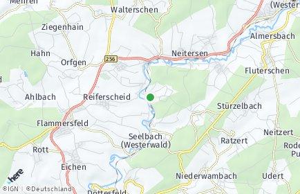 Stadtplan Berzhausen