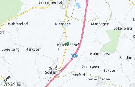 Stadtplan Beschendorf