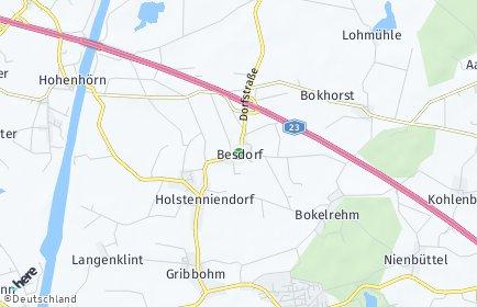 Stadtplan Besdorf