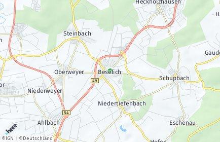 Stadtplan Beselich