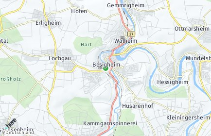 Stadtplan Besigheim