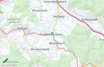 Stadtplan Bessenbach