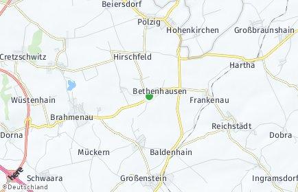 Stadtplan Bethenhausen