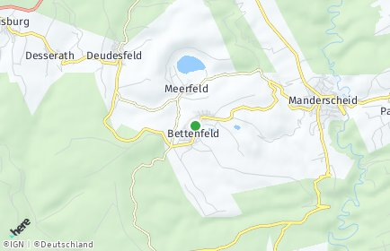 Stadtplan Bettenfeld