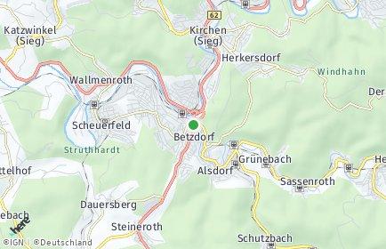 Stadtplan Betzdorf