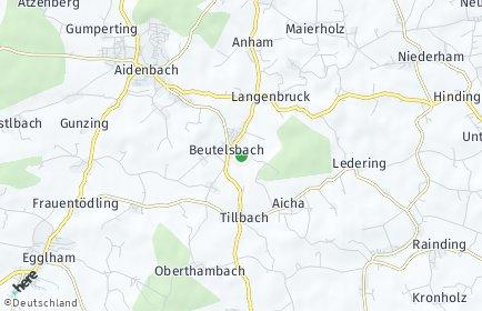 Stadtplan Beutelsbach