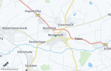 Stadtplan Beverstedt