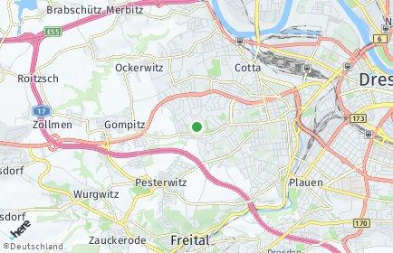 Stadtplan Dresden OT Gorbitz-Süd