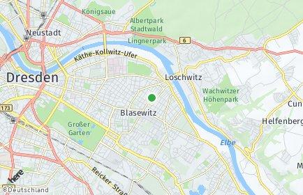 Stadtplan Dresden OT Striesen-Ost