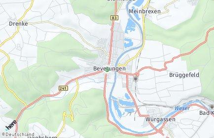 Stadtplan Beverungen