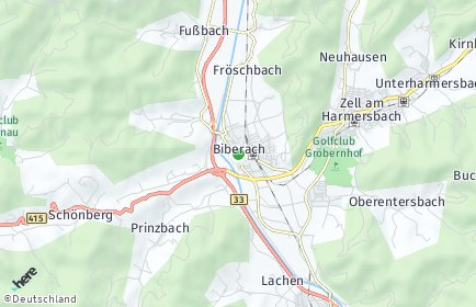 Plz Biberach Baden Postleitzahl Baden Wurttemberg Deutschland