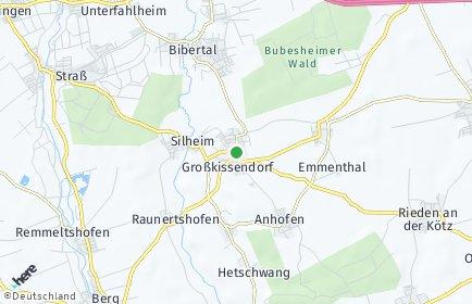 Stadtplan Bibertal