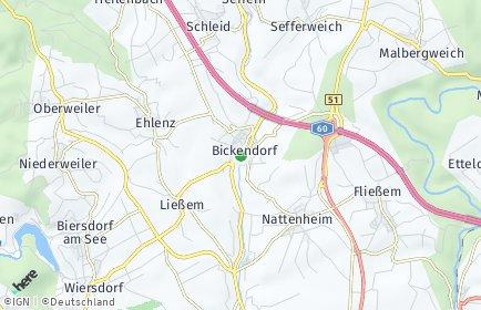 Stadtplan Bickendorf