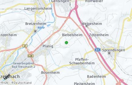 Stadtplan Biebelsheim