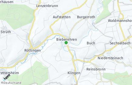Stadtplan Bieberehren