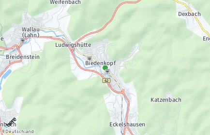 Stadtplan Biedenkopf