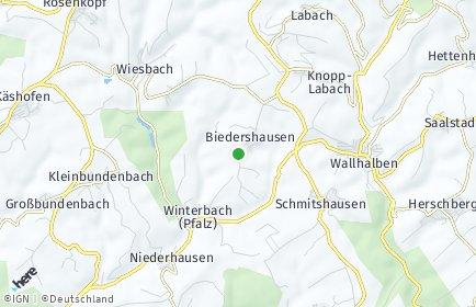Stadtplan Biedershausen