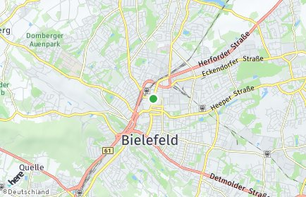 Stadtplan Bielefeld