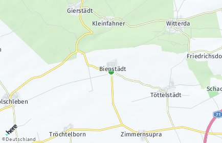 Stadtplan Bienstädt
