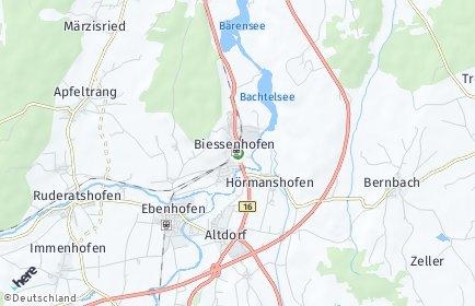 Stadtplan Biessenhofen