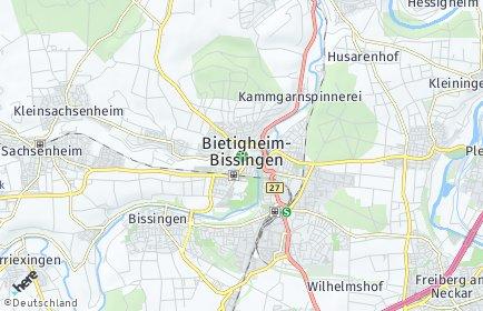 Stadtplan Bietigheim-Bissingen