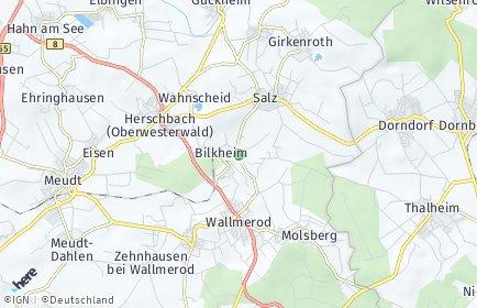 Stadtplan Bilkheim