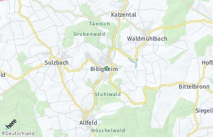 Stadtplan Billigheim