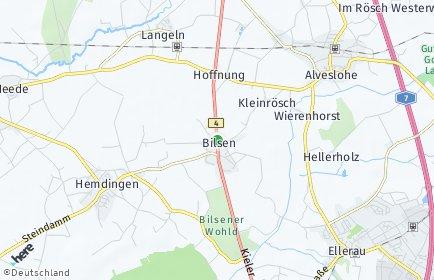 Stadtplan Bilsen