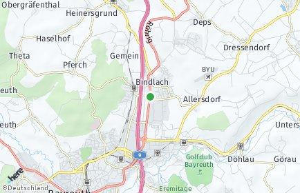 Stadtplan Bindlach