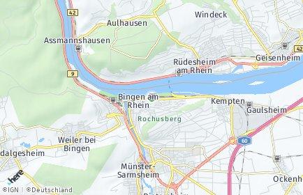 Stadtplan Bingen