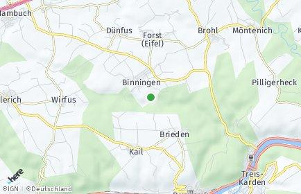 Stadtplan Binningen