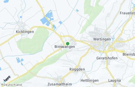 Stadtplan Binswangen
