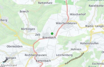 Stadtplan Birenbach (Kreis Göppingen)
