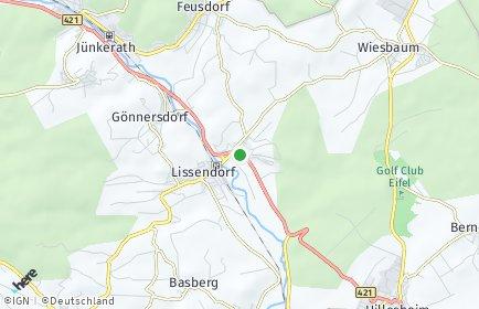 Stadtplan Birgel