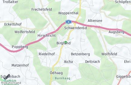 Stadtplan Birgland