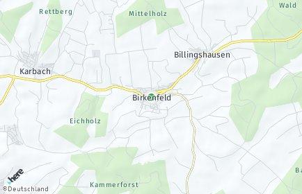 Stadtplan Birkenfeld (Unterfranken)