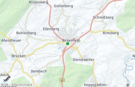 Stadtplan Birkenfeld (Nahe)